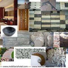 Materiales de construcción sostenible: Paredes de estilo  de Ale debali study