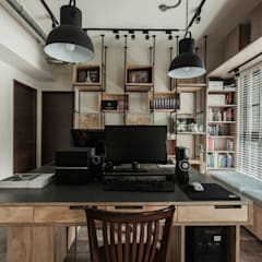 Study/office by 丰墨設計 | Formo design studio, Industrial