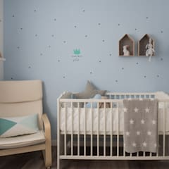 Quarto do Bebé Pedro: Quartos de criança  por MUDA Home Design
