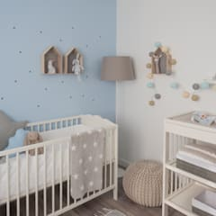 Nursery/kid's room by MUDA Home Design