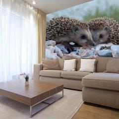 Animal Wallpapers Livings de estilo moderno de Wallsauce.com Moderno