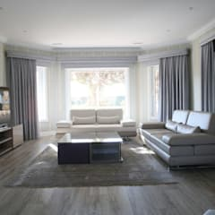 Aykuthall Architectural Interiors – OHY Evi Sunflower Sitesi: modern tarz Multimedya Odası