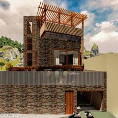CASA JONES - PROYECTO: Anexos de estilo moderno por FRANCO CACERES / Arquitectos & Asociados