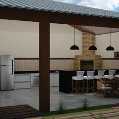منازل تنفيذ SM Arquitetura e Engenharia,