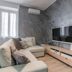 Living room by Facile Ristrutturare