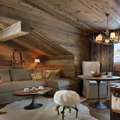 Hotel Arlberg Jagdhaus:  Wohnzimmer von Go Interiors GmbH