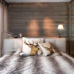 Ferienwohnung Laax:  Schlafzimmer von Go Interiors GmbH