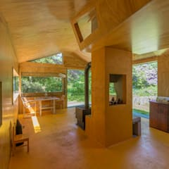 Thoreau's Cabin by cc-studio Country Wood Wood effect