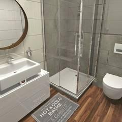 ห้องน้ำ by Pracownia Projektowa MOJE