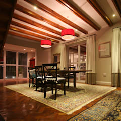 Alteration Close:  Dining room by Architects Of Justice,