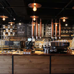 Doğaltaş Atölyesi – Espresso Lab - Kahve Mağazaları:  tarz Duvarlar