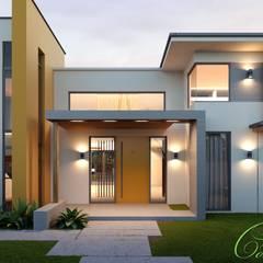 Mediterranean style houses by Компания архитекторов Латышевых 'Мечты сбываются' Mediterranean