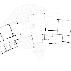 Arbutus House - Floor Plan:  Houses by Helliwell + Smith • Blue Sky Architecture