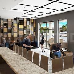 Interior 3D-Rendering CGI Design-: Bares y Clubs de estilo  de YANTRAM ANIMACIÓN