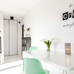 Salon de style  par Pasja Do Wnętrz, Scandinave