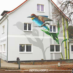 Hospitals by  Wandgestaltung Graffiti Airbrush von Appolloart, Asian