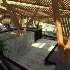 : Spa de estilo moderno por Paz Ingenieros & Arquitectos