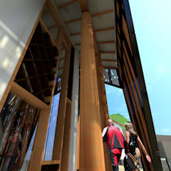 : Spa de estilo  por Paz Ingenieros & Arquitectos