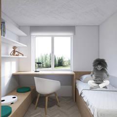 Nursery/kid's room by MOTIFO, Minimalist پلائیووڈ