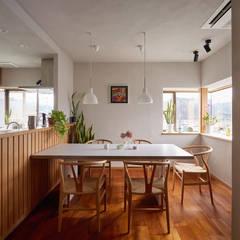 اتاق غذاخوری توسط竹内建築設計事務所, اکلکتیک (ادغامی)