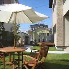 おしゃれな中庭の休憩スペース | エクステリア&ガーデンデザイン専門店 エクステリアモミの木: エクステリアモミの木 | エクステリア&ガーデンデザイン専門店が手掛けた庭です。