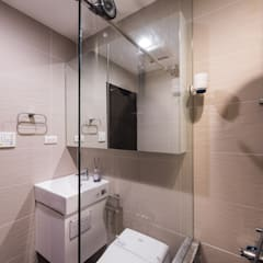 ห้องน้ำ โดย 你你空間設計,