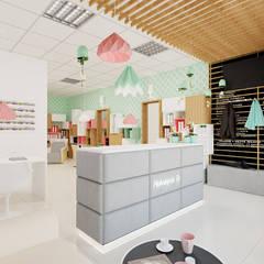 """Salon Piękności """"Piękniejsza TY"""": styl , w kategorii Spa zaprojektowany przez Ale design Grzegorz Grzywacz"""