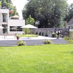 Projekty,  Ogród zaprojektowane przez ST raum a. Gesellschaft von Landschaftsarchitekten mbH