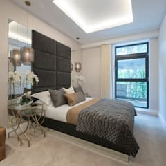 Musewll Hill, London:  Bedroom by Jigsaw Interior Architecture