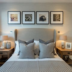Station Rd, New Barnet:  Bedroom by Jigsaw Interior Architecture