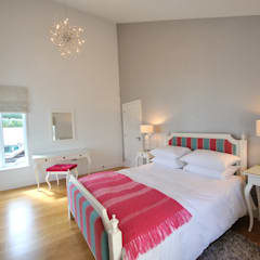Sea House, Porth | Cornwall:  Bedroom by Perfect Stays