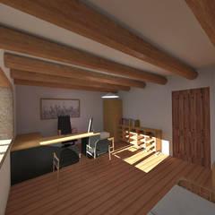 Casa de Campo en Jayanca: Oficinas de estilo  por ROQA.7 ARQUITECTOS,