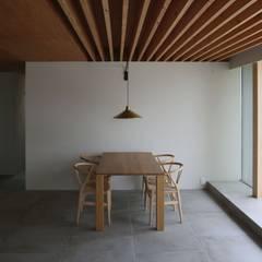 八町の家: 深山知子一級建築士事務所・アトリエレトノが手掛けたダイニングです。