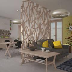 Living room by Teresa Lamberti Architetto,