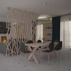 Comedores de estilo  por Teresa Lamberti Architetto,
