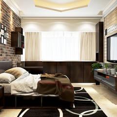 Bedroom Design 1:  Bedroom by Yagotimber.com,
