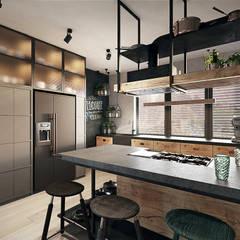 WROCŁAW / SOŁTYSOWICE - 280M2: styl , w kategorii Kuchnia zaprojektowany przez razoo-architekci