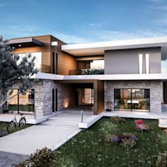 Houses by VERO CONCEPT MİMARLIK