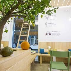 Citrus Gelateria Artigianale: Gastronomia in stile  di Casaburi & Memoli Architetti
