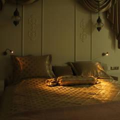 50GR Mimarlık – cevizlibağ_Yatak odası Tasarımı:  tarz Yatak Odası