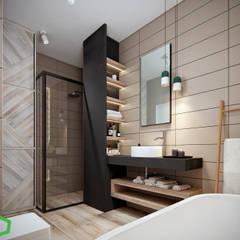 : Ванные комнаты в . Автор – Polygon arch&des, Модерн