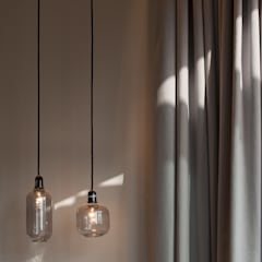 Cute Lightings:  Bedroom by Sensearchitects_Limited