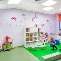 Оформление стен детского эндокринологического центра . Игровая: Больницы в . Автор – 33dodo