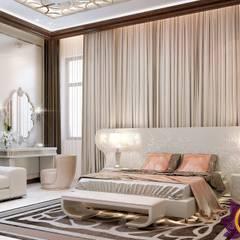 Interior Design bedroom by Katrina Antonovich:  Bedroom by Luxury Antonovich Design