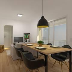 Phòng ăn by 2:1 Arquitetura & Interiores