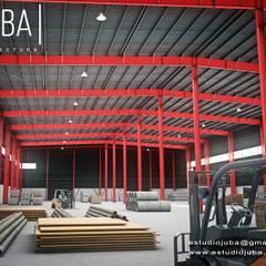 Portfolio: Bodegas de estilo  por JUBA arquitectura