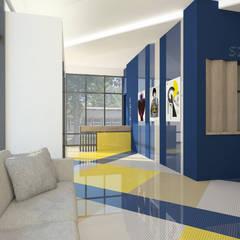 Rewitalizacja kina Tęcza w Warszawie: styl , w kategorii Miejsca na imprezy zaprojektowany przez Marta Czeczko | architekt wnętrz