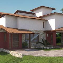Casa Campestre 2: Casas campestres por P&I Arquitetura