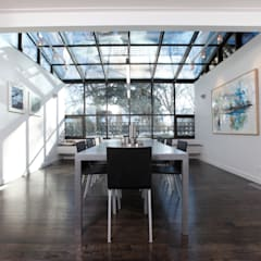 ZT Residence Interiors :  Conservatory by Unit 7 Architecture,