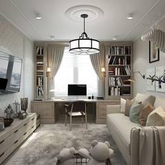 Habitaciones infantiles de estilo  por Diana Tarakanova Design